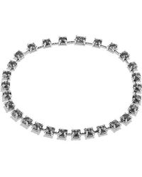 David Yurman - Châtelaine Necklace With Hematine And Diamonds - Lyst