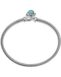 David Yurman - Châtelaine Bracelet With Turquoise - Lyst