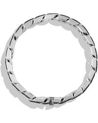 David Yurman - Curb Chain Bracelet With Gray Sapphires - Lyst