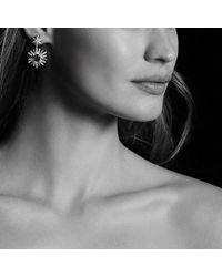 David Yurman | Starburst Drop Earrings With Prasiolite And Diamonds | Lyst