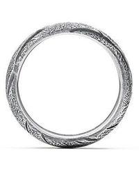 David Yurman - Southwest Wide Feather Band Ring - Lyst