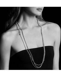 David Yurman - Starburst Chain Necklace With Pearls - Lyst