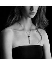 David Yurman - Osetra Tassel Necklace With Rhodalite Garnet - Lyst