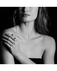 David Yurman - Petite Albion® Ring With Pyrope Garnet And Diamonds - Lyst