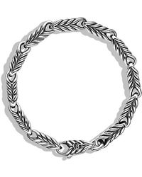 David Yurman | Chevron Link Bracelet | Lyst