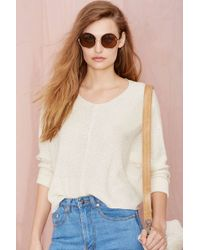 Nasty Gal Loose Your Cool Sweater - Lyst