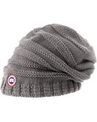 Canada Goose victoria parka online cheap - Shop Women's Canada Goose Hats from $40   Lyst