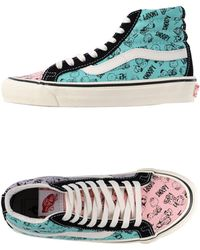 Vans High-Tops & Trainers blue - Lyst