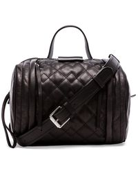 Marc By Marc Jacobs Moto Quilted Barrel Bag - Lyst