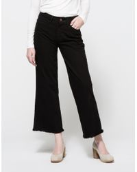 Objects Without Meaning Flare Jean black - Lyst