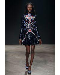 Mary Katrantzou Directopios Dress Embroidered - Lyst