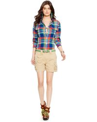 Polo Ralph Lauren Plaid Cotton Shirt - Lyst
