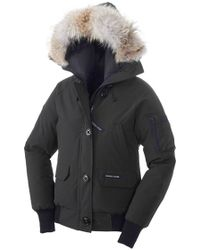 Canada Goose womens online fake - Canada goose Brookvale Hooded Jacket in Multicolor (Black) | Lyst