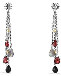 David Yurman Capri Starburst Earrings With 18K Gold - Lyst