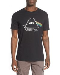 Poler Stuff - 'psychedelic' Graphic T-shirt - Lyst