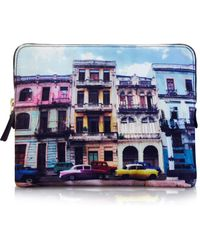 Paul Smith Havana Print Ipad Case - Lyst