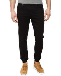 Publish Parkin Brushed Twill Five-Pocket Jogger Pants With Stone Wash - Lyst