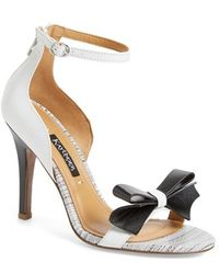 Kay Unger 'Baroque' Ankle Strap Sandal - Lyst