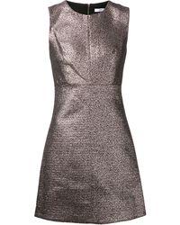 Diane Von Furstenberg Metallic Dress - Lyst