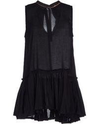 Diesel Short Dress - Lyst