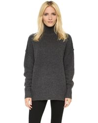 NLST - Oversize Turtleneck Sweater - Lyst
