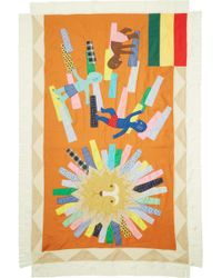 Junya Watanabe - Multicolour Graphic Patchwork Scarf - Lyst