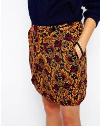 See U Soon - Wrap Front Skirt - Lyst