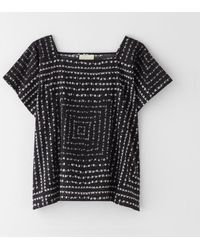 Band Of Outsiders Boxy Popover Top - Lyst