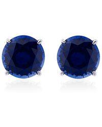 Carat* - Sapphire Stud Earrings - Lyst