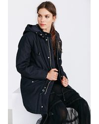 Cheap Monday Wanted Cotton Parka - Lyst