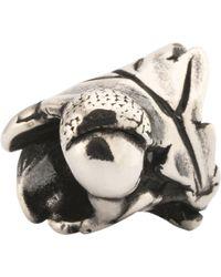 Trollbeads - Sterling Silver Little Acorns Charm - Lyst