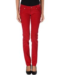 DSquared2 Red Casual Pants - Lyst