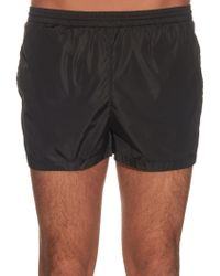 Gucci | Embroidered-bee Swim Shorts | Lyst