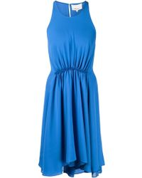 3.1 Phillip Lim Gathered Waist Dress - Lyst