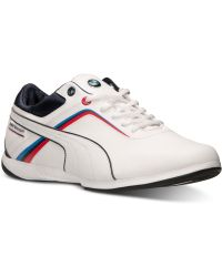 Puma Mens Bmw Ms Ignite Casual Sneakers From Finish Line - Lyst