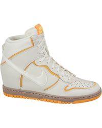 Nike Dunk Sky Hi Atomic Mango - Lyst