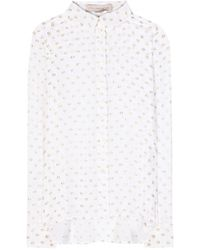 Stella McCartney Wilson Silk Shirt - Lyst