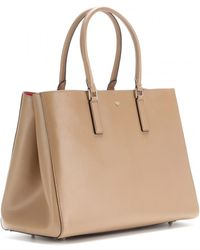 Anya Hindmarch Ebury Large Featherweight Leather Tote - Lyst