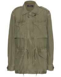 Polo Ralph Lauren Combat Cotton Coat - Lyst