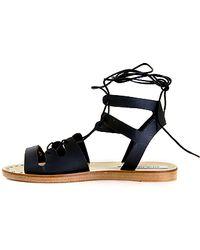 Steve Madden | Ankle Wrap Sandal | Lyst