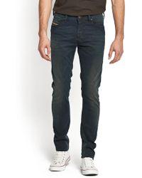 Diesel Mens Tepphar 607y Slim Tapered Jeans - Lyst