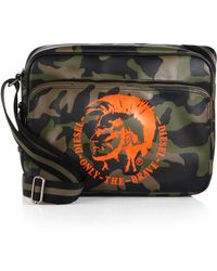 Diesel Happy Day Camo Messenger Bag - Lyst