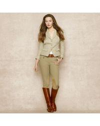 Ralph Lauren Blue Label | Linen-Blend Tweed Jacket | Lyst