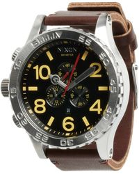 Nixon The 51-30 Chrono Leather - The Luxe Heritage Collection - Lyst