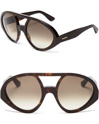 Valentino Aviator Sunglasses - Lyst