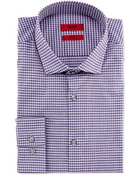 Hugo Boss Easton Slim Fit Check Dress Shirt - Lyst