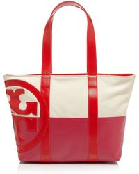 Tory Burch Tote - Small Dipped Beach - Lyst
