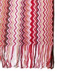 Missoni Zigzag Cotton Scarf - Lyst