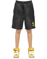 Jeremy Scott for adidas - Neoprene Mesh Shorts - Lyst