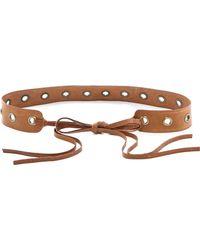 Donna Karan - Tie Belt - Lyst